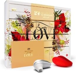 Amorana Erotischer Adventskalender für Paare – Erotik Kalender mit 28 sinnlichen Überraschungen