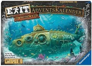 EXIT Adventskalender – Das gesunkene U-Boot