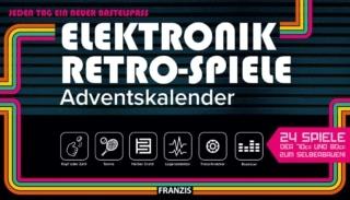 FRANZIS Elektronik Retro Spiele Adventskalender