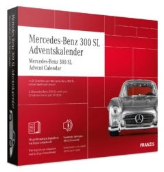FRANZIS Mercedes-Benz 300 SL Adventskalender
