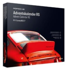 FRANZIS Porsche Carrera RS Adventskalender