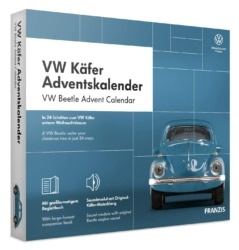 FRANZIS VW Käfer Adventskalender