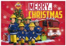 Feuerwehrmann Sam Schreibwaren Adventskalender