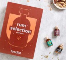 Foodist Rum Adventskalender