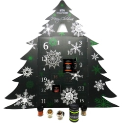 Hallingers Gewürz Adventskalender als Baum