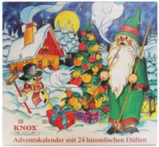 Knox Räucherkerzen Adventskalender