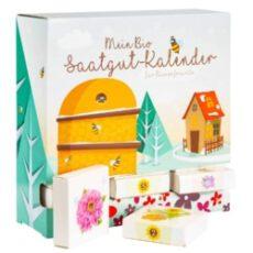 Mein Bio Saatgut Adventskalender für Bienenfreunde