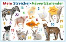 Dieser Streichel-Adventskalender ist schon für die Kleinsten geeignet. Hinter jedem der 24 Türchen befindet sich entweder ein Fühlelement zum Streicheln oder ein Tierfoto zum Bestaunen. Lasst euer Kind die Tierwelt entdecken!