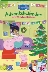 Peppa Pig Adventskalender mit 24 Mini-Büchern