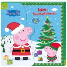 Peppa Pig Büchlein in Kalender-Box