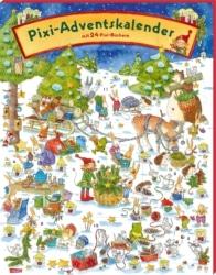 Pixi Adventskalender mit 24 Pixi Büchern