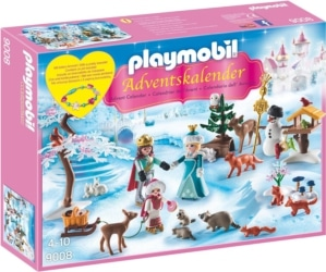 Playmobil Adventskalender 2017 Eislaufprinzessin im Schlosspark