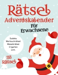 Riesen Rätsel Adventskalender zu Weihnachten