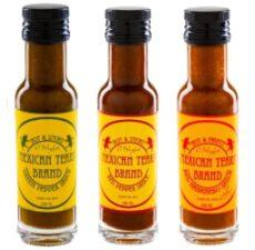 Scharfe Saucen aus Habaneros und Chipotle