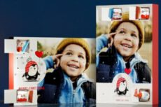Schoko Adventskalender mit Produkten von kinder®