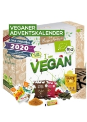 Veganer Adventskalender von Boxiland