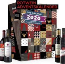 Wein Adventskalender mit Weinsorten aus aller Welt