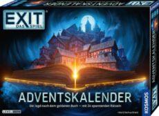 Umfangreiches Spielmaterial mit Decodiertafel, Story-Block und Rätsel-Karten Spannung pur: der Kalender zur erfolgreichen Escape-Room-Spielereihe EXIT