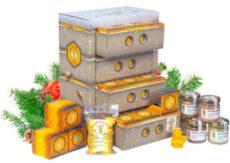 Honig Adventskalender in hochwertiger Bienenkasten-Optik – naturbelassener Honig zum Verschenken oder Kennenlernen | Geschenkset mit 21 Sorten Honig
